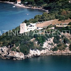 The Spanish Fortress Over The Cliff Tuscany Coast